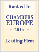 chambers europe ranked tax firm